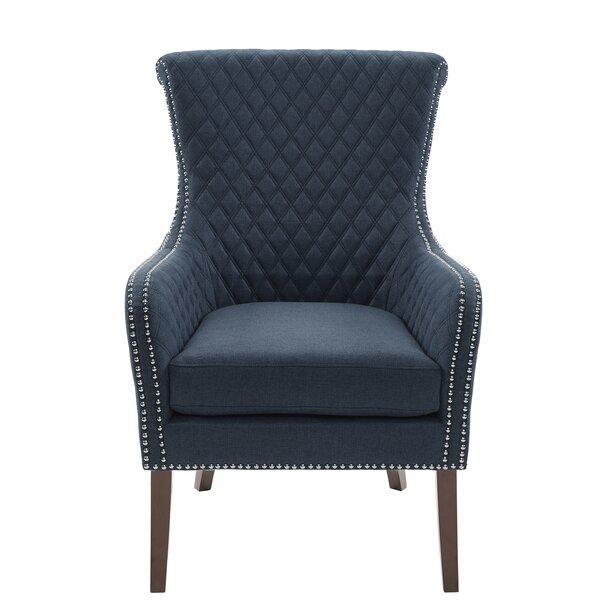 Busti Wingback Chair by Alcott Hill Alcott Hill