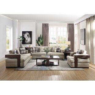 Glendel 3 Piece Living Room Set by Ebern Designs