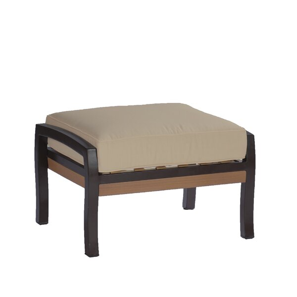 Belize Ottoman with Cushion by Summer Classics