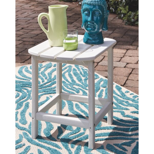 Lupe Plastic/Resin Side Table by Highland Dunes