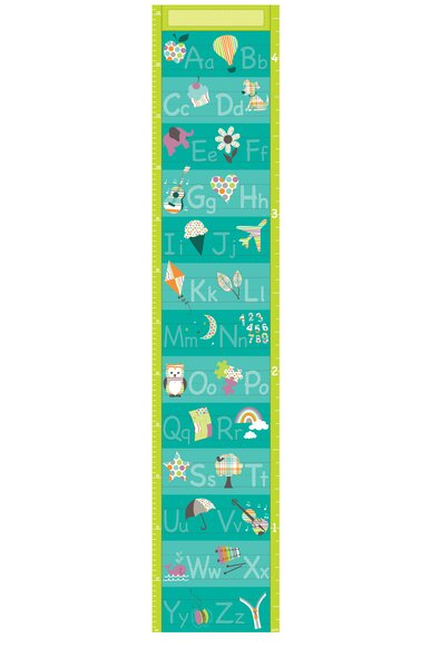 Darlene Alphabet Growth Chart by Zoomie Kids