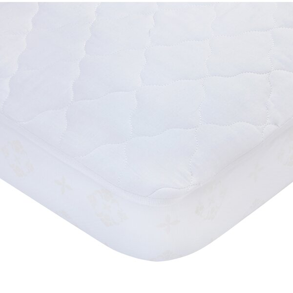 Waterproof Fitted Quilted Crib Mattress Pad by Car