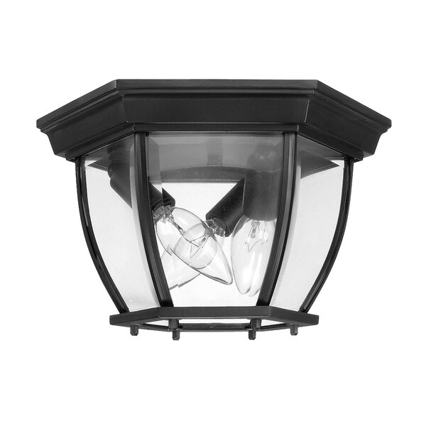 3-Light Outdoor Flush Mount by Capital Lighting
