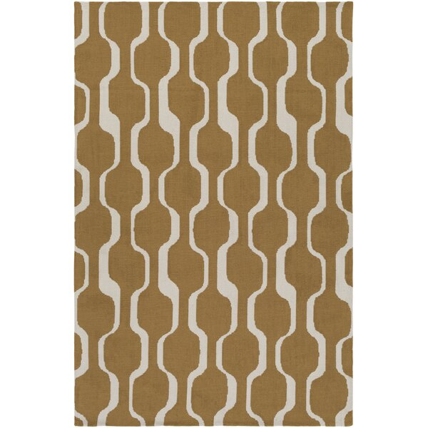 Zaire Gold Area Rug by George Oliver