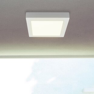 Led dimmable ceiling lights wayfair paul 1 light led ceiling light aloadofball Image collections