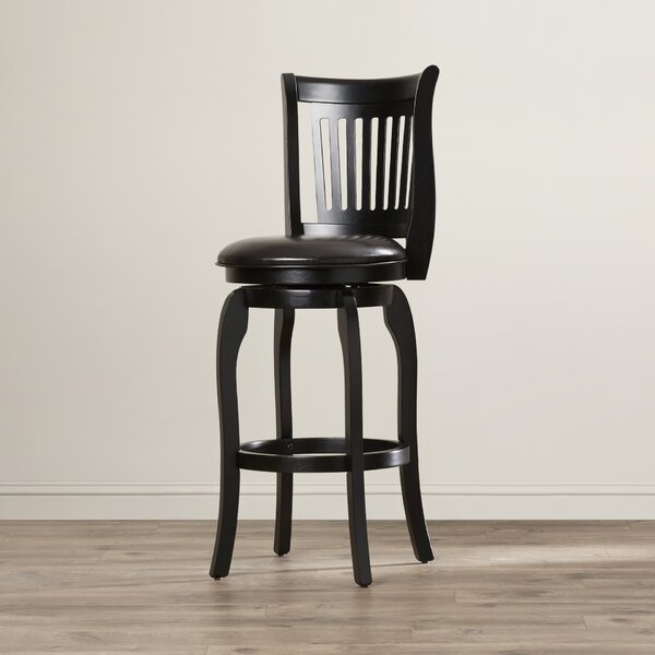 Fairhope 30 Swivel Bar Stool by Red Barrel Studio