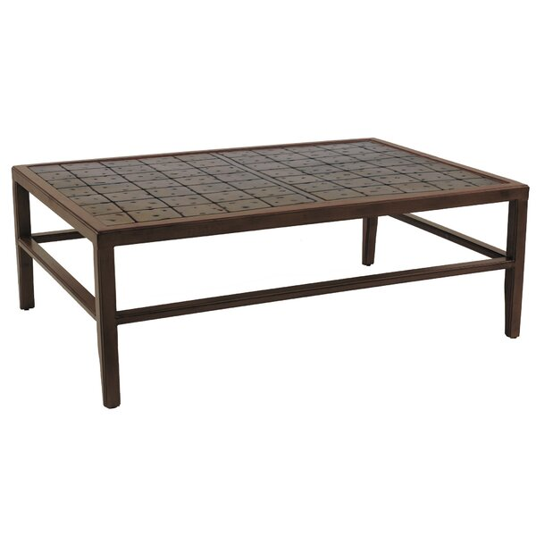 Heritage Aluminum Coffee Table by Leona