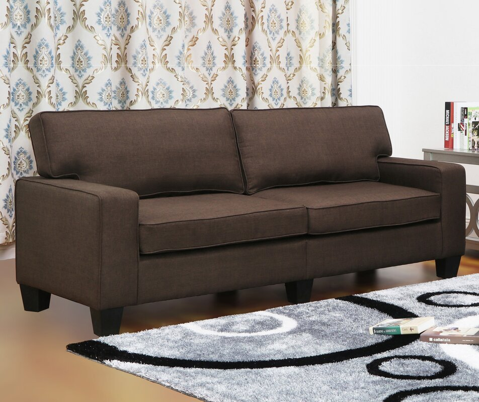 Jordan Linen Modern Living Room Sofa Reviews Birch Lane
