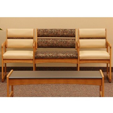 Valley Series Bariatric Three Seater by Wooden Mal