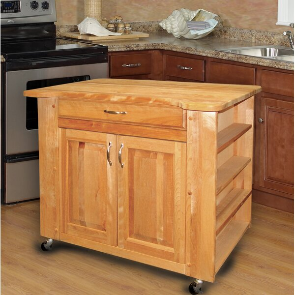 Kitchen Island With Butcher Block Top By Catskill Craftsmen, Inc. Wonderful