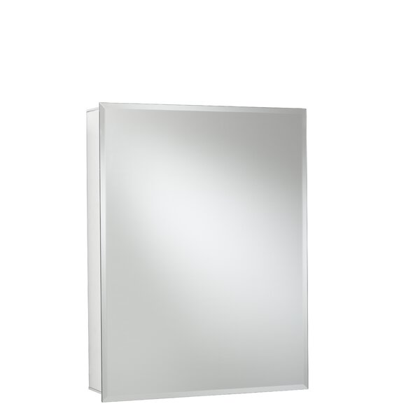 24 x 30 Recessed or Surface Mount Frameless Medicine Cabinet with 2 Adjustable Shelves by Jacuzzi®