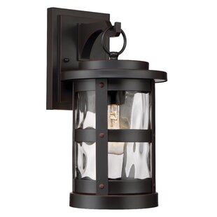Clearance Terraze 1-Light Outdoor Wall Lantern By Designers Fountain