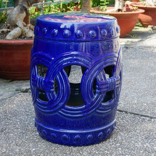 Kilpatrick Feng Shui Ceramic Garden Stool by Charlton Home