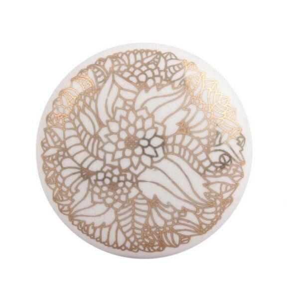 Flat Ceramic Drawer Novelty Knob by MarktSq