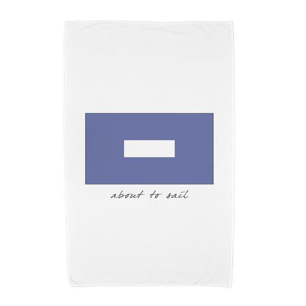 Phrase Text Word Print Beach Towel by Breakwater Bay