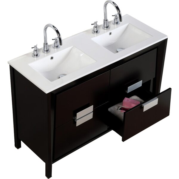 48 Double Sink Vanity Set by Bellaterra Home