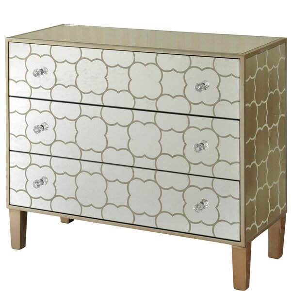 Hockman Stenciled 3 Drawer Accent Chest by Mercer41