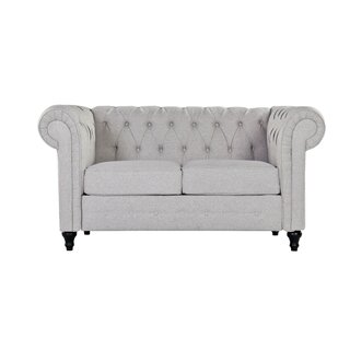 Whitmarsh Chesterfield Loveseat by Charlton Home SKU:EA683855 Price Compare