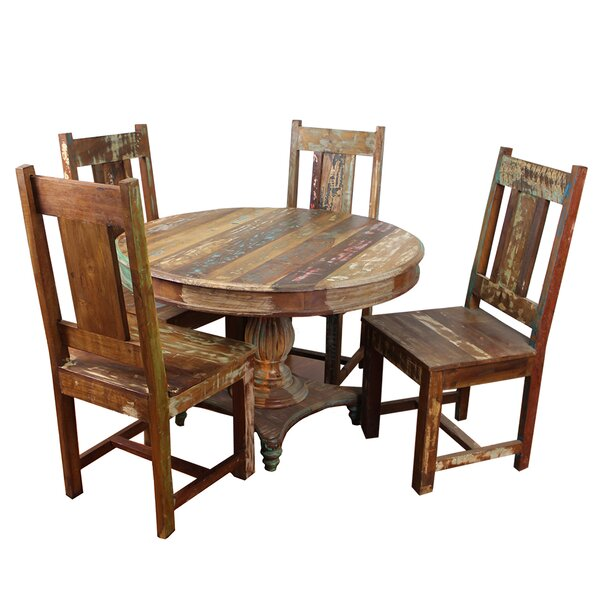 Mcdonnell 5 Piece Dining Set by Bloomsbury Market