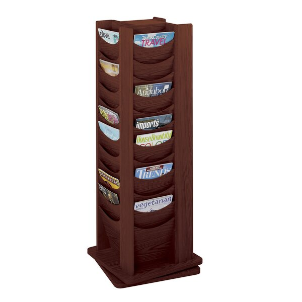 Rotary Display, 48 Compartments by Safco Products Company