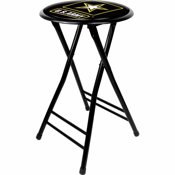 U.S Army 24 Bar Stool by Trademark Global