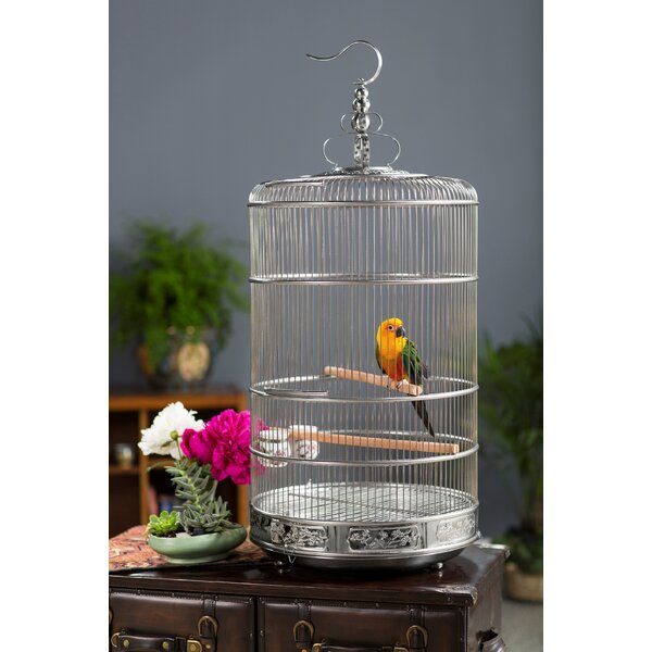 Pet Dynasty Bird Cage with Removable Tray by Prevue Hendryx