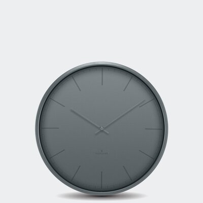 Brushed Nickel Wall Clock Wayfair