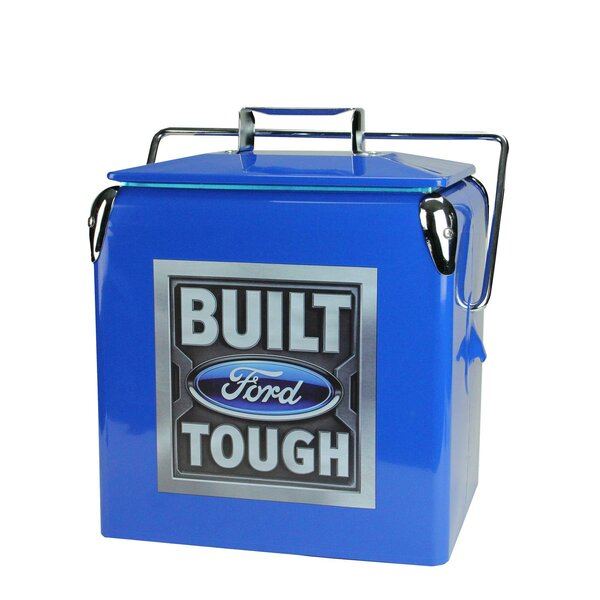 13.73 Qt. Built Ford Tough Cooler by Northlight Seasonal