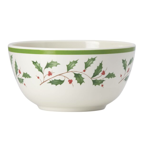 Holiday Melamine All Purpose Bowl (Set of 4) by Le
