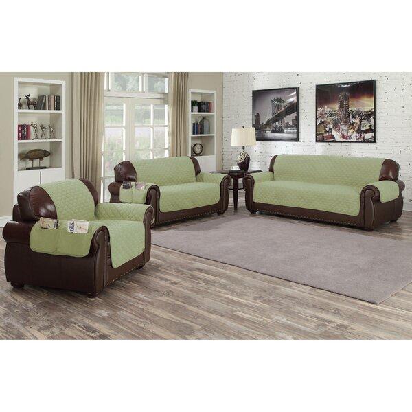 Free Shipping Microfiber Box Cushion Sofa Slipcover
