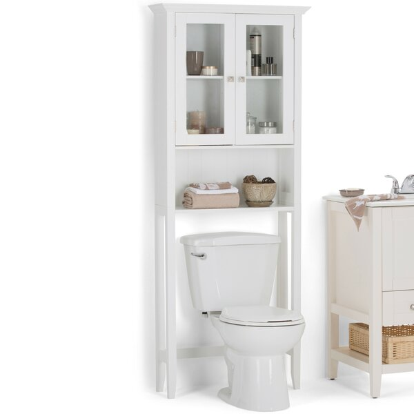 Acadian 27.56 W x 68.43 H Over the Toilet Storage by Simpli Home