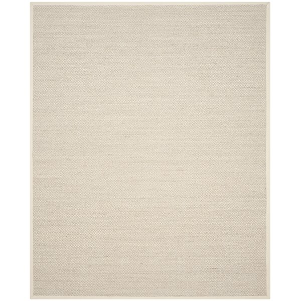 Tallowick Marble/Beige Area Rug by Beachcrest Home