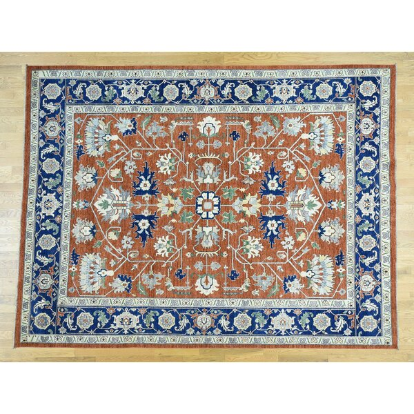 One-of-a-Kind Beare Antiqued Handwoven Wool Area Rug by Isabelline