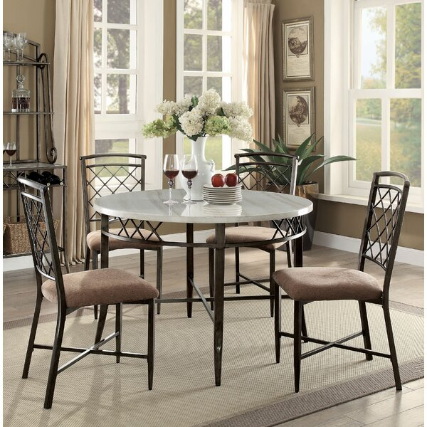 Glines 5 Piece Dining Set by Astoria Grand