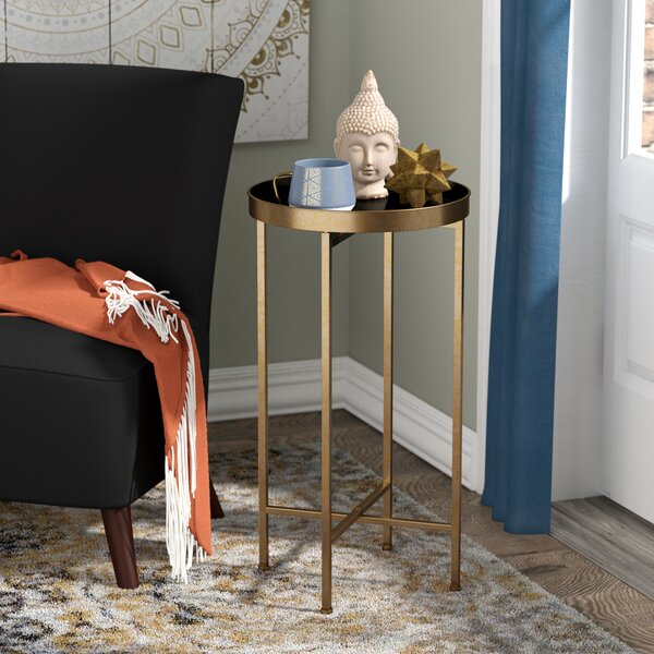 Tiara End Table by Mistana