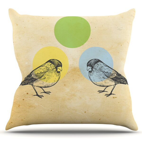 Sreetama Ray Outdoor Throw Pillow by East Urban Home