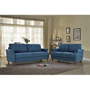 Briscoe 2 Piece Living Room Set by Charlton Home®