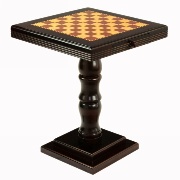 Pedestal Chess Table by Mega HomePedestal Chess Table by Mega Home