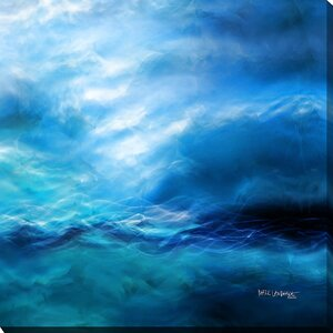 The Raging of the Water. Luke 8:24 by Mark Lawrence Graphic Art on Wrapped Canvas by Picture Perfect International