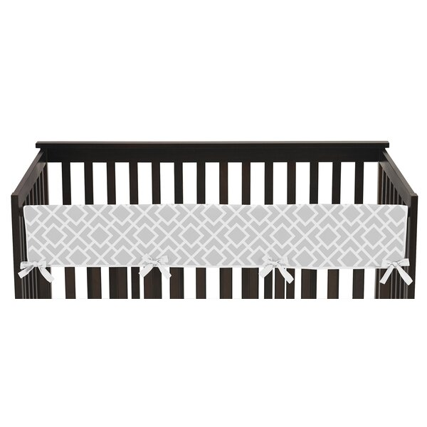 Diamond Long Crib Rail Guard Cover by Sweet Jojo Designs