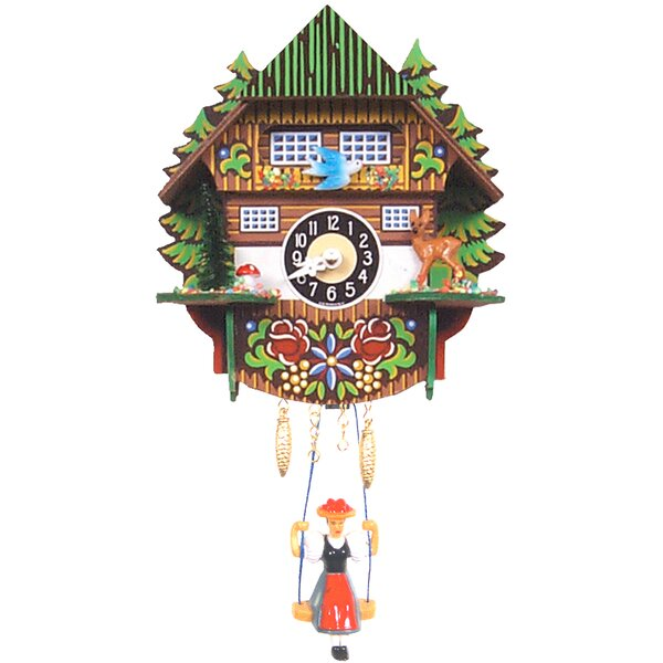 Mountain Chalet Cuckoo Clock by Black Forest