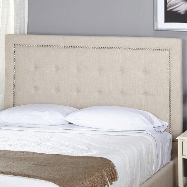 Tms Cortina Queen Upholstered Panel Headboard Reviews Wayfair