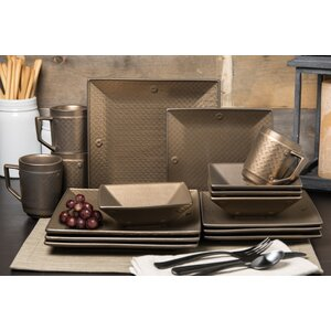 Independence 16 Piece Dinnerware Set, Service for 4