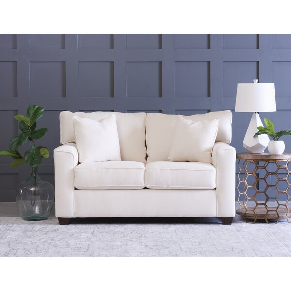 Lesley Loveseat by Wayfair Custom Upholstery™