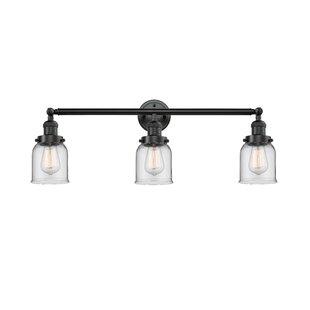 Nason Vintage 3-Light Vanity Light By Beachcrest Home Wall Lights