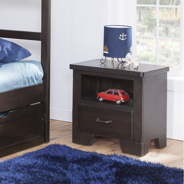 Walston 1 Drawer Nightstand by Breakwater Bay