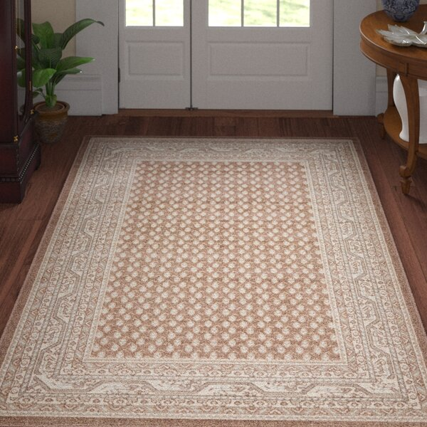 Gillam Brown Area Rug by Three Posts