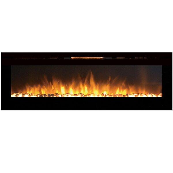 Barajas Wall Mounted Electric Fireplace by Brayden Studio Brayden Studio