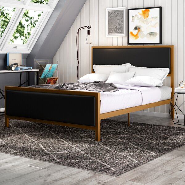 Kara Upholstered Platform Bed by Trule Teen
