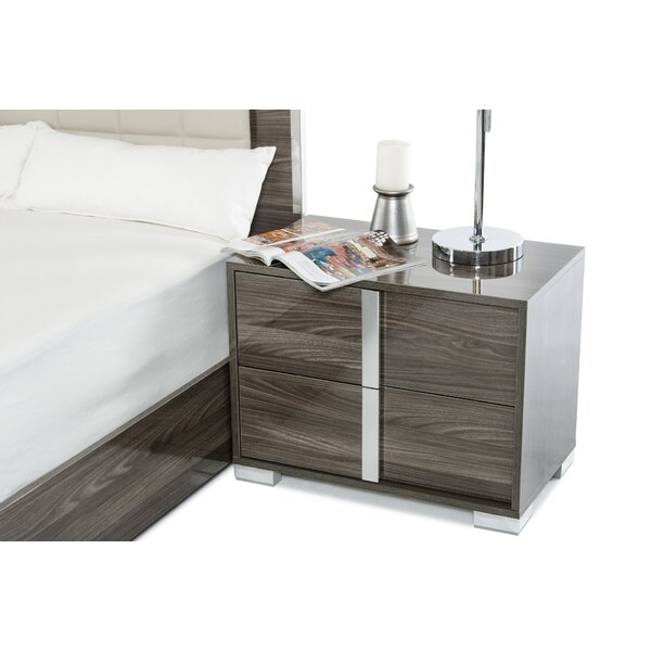 Demaria 2 Drawer Nightstand by Orren Ellis